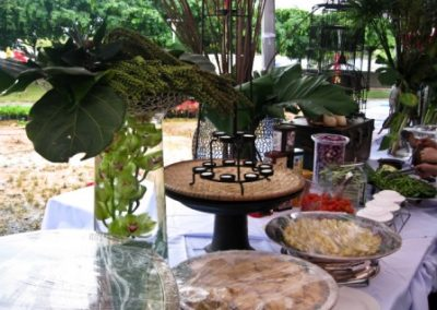 banana cafe table decorations-0572